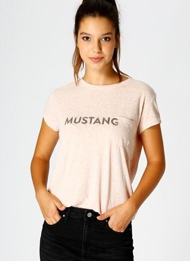 Mustang Tişört Pembe